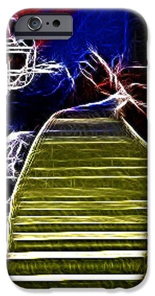 Ahmad Bradshaw iPhone Case by Paul Ward