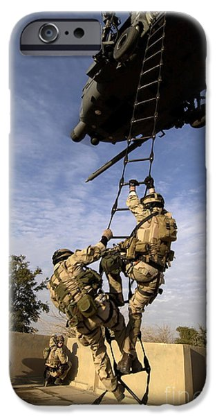 Baghdad iPhone Cases - Air Force Pararescuemen Are Extracted iPhone Case by Stocktrek Images