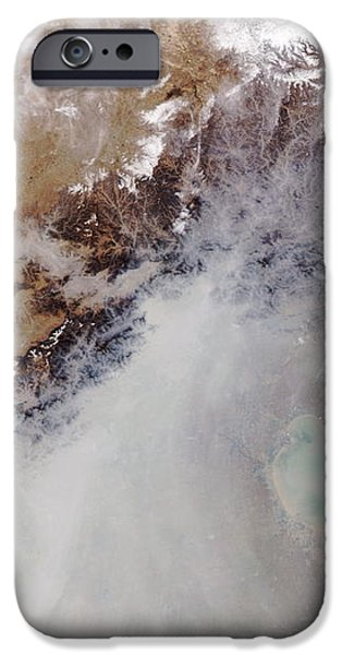Air Pollution Over China iPhone Case by NASA / Science Source