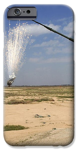 Airmen Conduct A Controlled Detonation iPhone Case by Stocktrek Images