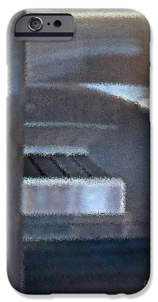 Stainless Steel iPhone Cases - Airport Cubical iPhone Case by Gwyn Newcombe