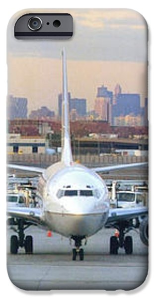 Airport Overlook the Big City iPhone Case by Mike McGlothlen