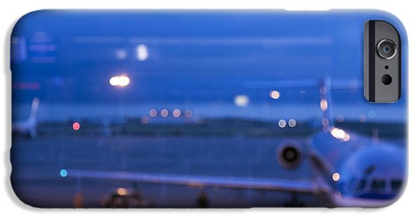 At Arrivals iPhone Cases - Airport Terminal iPhone Case by Roberto Westbrook