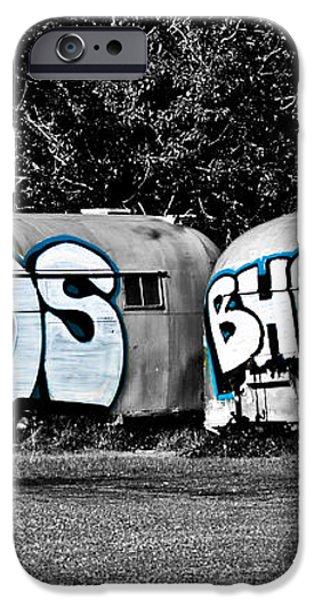 Airstream Graffiti iPhone Case by Larry  Depee