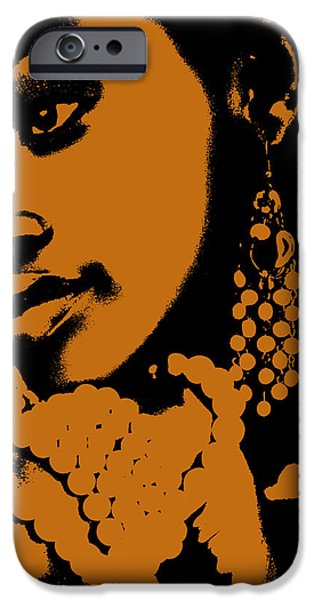 Aisha iPhone Case by Naxart Studio