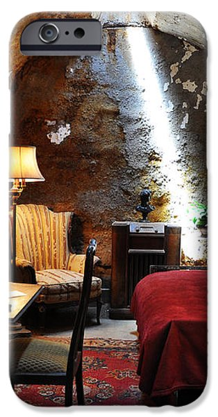 Al Capone's Cell - Eastern State Penitentiary iPhone Case by Bill Cannon