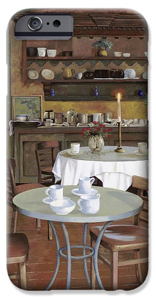 Dating iPhone Cases - Al Lume Di Candela iPhone Case by Guido Borelli