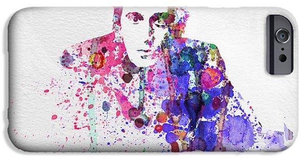 Al Pacino iPhone Cases - Al Pacino iPhone Case by Naxart Studio