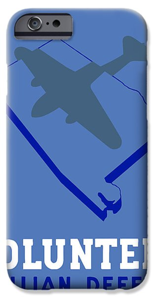 Alabama Civilian Defense WPA iPhone Case by War Is Hell Store