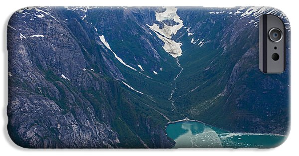 Norway iPhone Cases - Alaska Coastal iPhone Case by Mike Reid