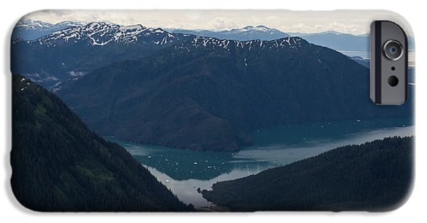 Norway iPhone Cases - Alaska Coastal Serenity iPhone Case by Mike Reid