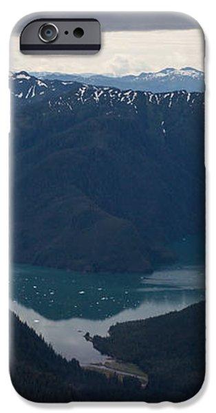 Alaska Coastal Serenity iPhone Case by Mike Reid