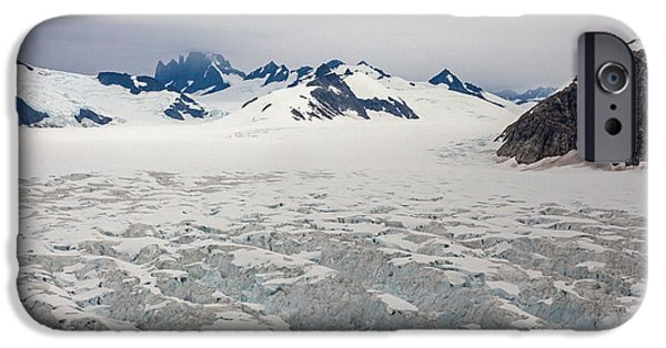 Norway iPhone Cases - Alaska Frontier iPhone Case by Mike Reid