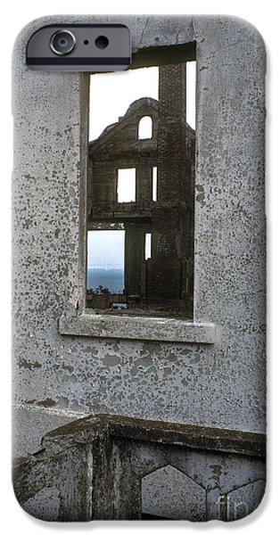 Alcatraz - windows iPhone Case by Paul W Faust -  Impressions of Light