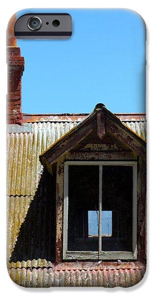 Alcatraz iPhone Cases - Alcatraz Chimney iPhone Case by Ty Helbach