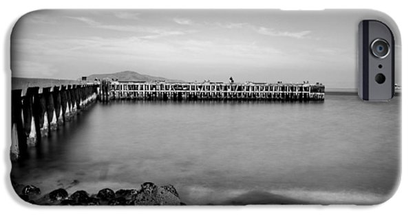 Alcatraz iPhone Cases - Alcatraz From Fort Point iPhone Case by Tanya Harrison