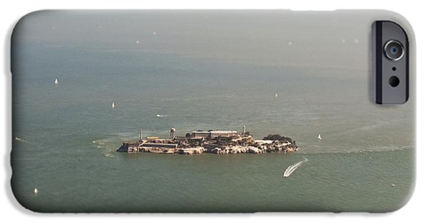 Alcatraz iPhone Cases - Alcatraz Island iPhone Case by Eddy Joaquim