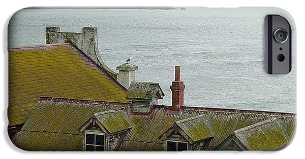 Alcatraz iPhone Cases - Alcatraz View iPhone Case by Suzanne Gaff