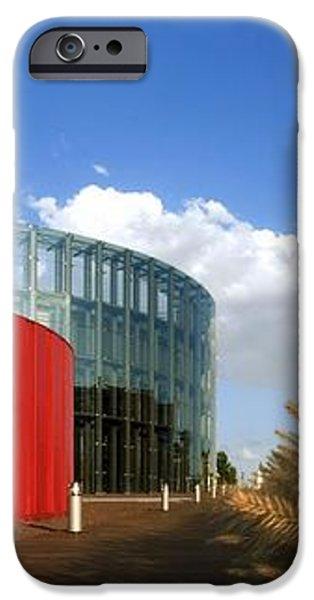 Alcorcon Arts Creation Centre iPhone Case by Carlos Dominguez