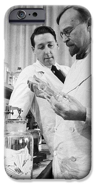Biochemist iPhone Cases - Aleksandr Oparin, Russian Biochemist iPhone Case by Ria Novosti