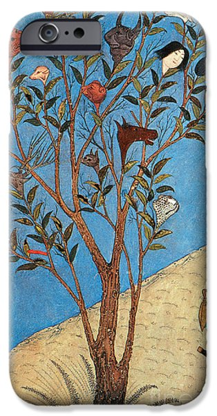 Alexander The Great At The Oracular Tree iPhone Case by Photo Researchers