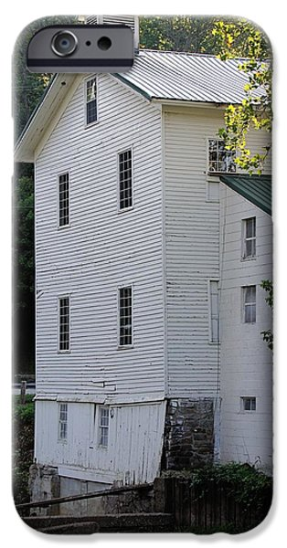 Feed Mill Photographs iPhone Cases - Alexanders Mill iPhone Case by Jenny Hudson