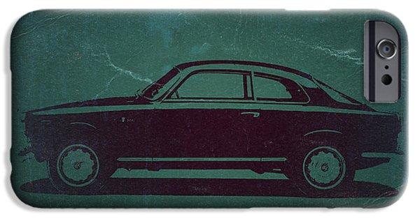 Concept Digital Art iPhone Cases - Alfa Romeo GTV iPhone Case by Naxart Studio