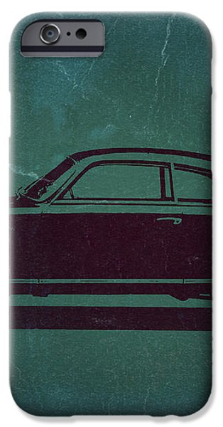 Alfa Romeo GTV iPhone Case by Naxart Studio
