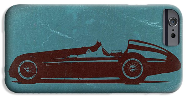 Old Digital Art iPhone Cases - Alfa Romeo Tipo 159 Gp iPhone Case by Naxart Studio