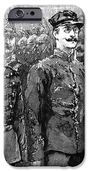 ALFRED DREYFUS (1859-1935) iPhone Case by Granger