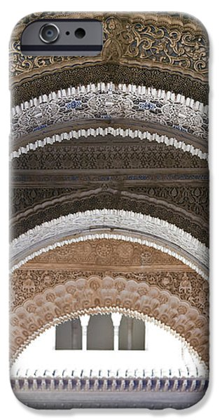 Alhambra arches iPhone Case by Jane Rix