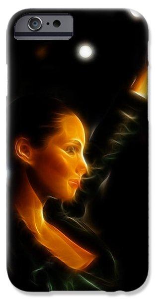 Alicia Keys - Singer iPhone Case by Lee Dos Santos