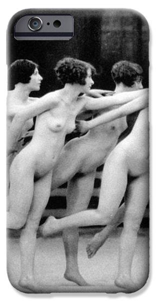ALLEN: CHORUS LINE, 1920 iPhone Case by Granger