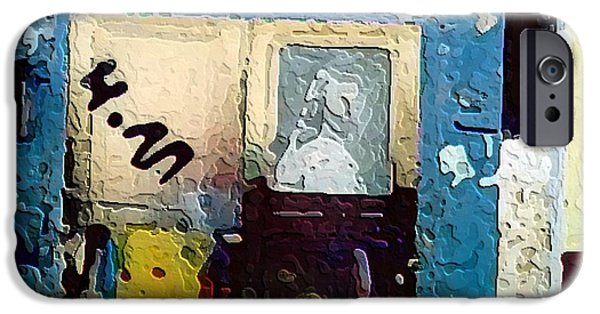 Alley Mixed Media iPhone Cases - Alley Entrance iPhone Case by Lauranns Etab