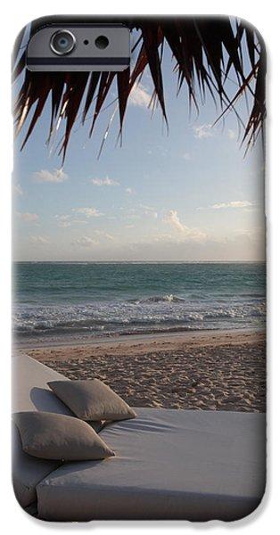 Alluring Tropical Beach iPhone Case by Karen Lee Ensley