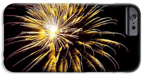 July 4th Digital Art iPhone Cases - Almost a Tree iPhone Case by Phill  Doherty