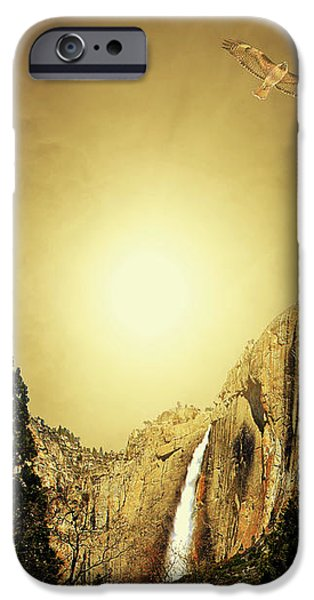 Almost Heaven . Full Version iPhone Case by Wingsdomain Art and Photography