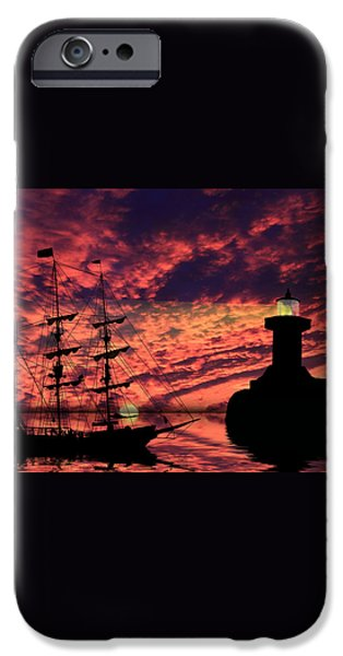 Almost Home iPhone Case by Shane Bechler