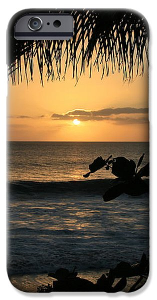 Aloha Aina the Beloved Land - Sunset Kamaole Beach Kihei Maui Hawaii iPhone Case by Sharon Mau