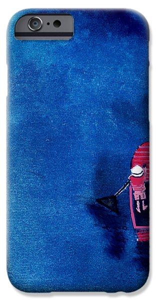 Alone 1 iPhone Case by Anil Nene