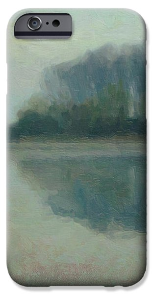 Along the Maas in Southern Limburg iPhone Case by Nop Briex