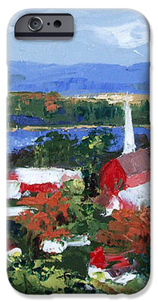 Along The Missouri  iPhone Case by Anthony Falbo
