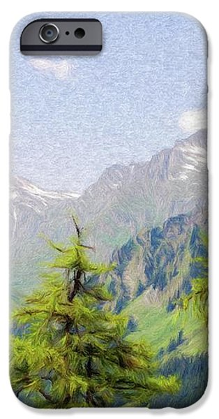 Alpine Altitude iPhone Case by Jeff Kolker