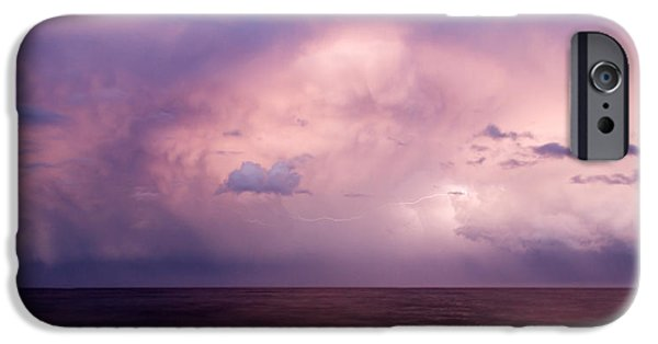 Electrical iPhone Cases - Amazing Skies iPhone Case by Stylianos Kleanthous