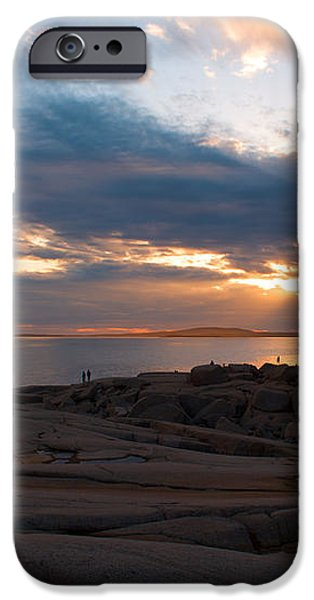 Amazing Sunset at Peggy's Cove iPhone Case by Andre Distel