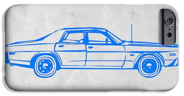 Concept iPhone Cases - American Car iPhone Case by Naxart Studio