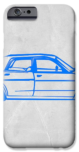 American Car iPhone Case by Naxart Studio