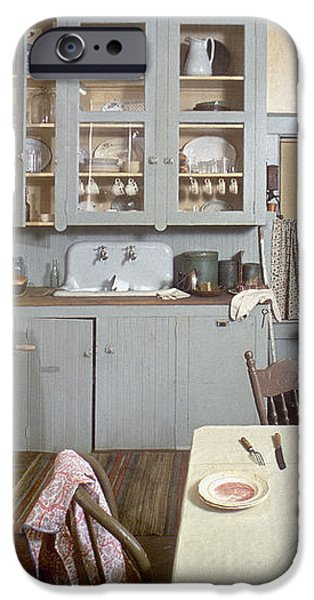 AMERICAN KITCHEN iPhone Case by Granger