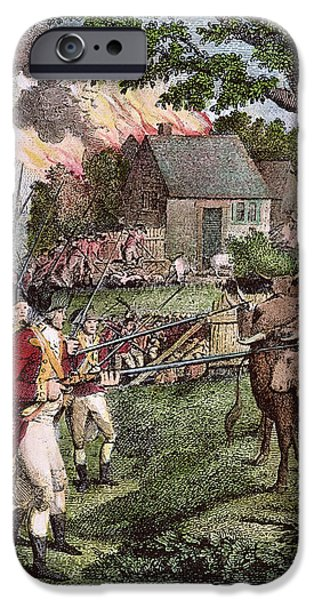 American Revolution iPhone Cases - AMERICAN REVOLUTION, 1770s iPhone Case by Granger