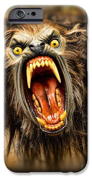American Werewolf iPhone Case by Paul Ward